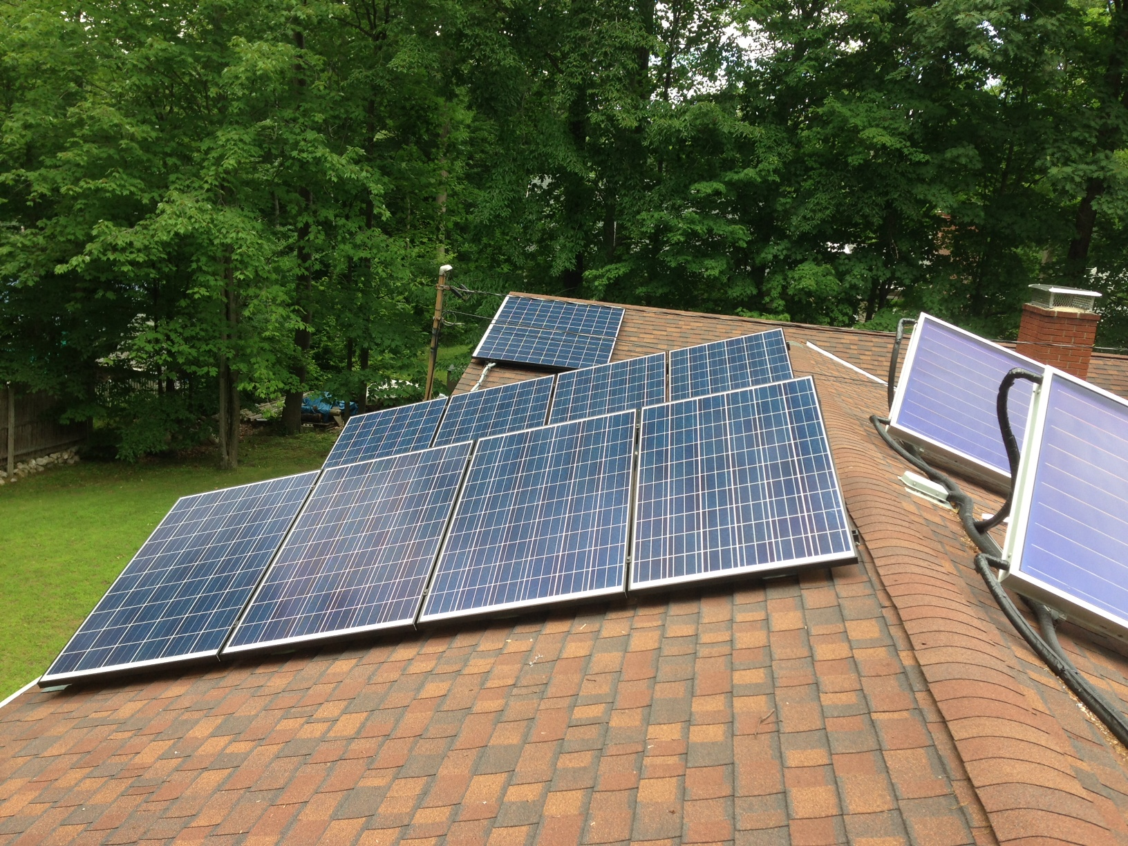 Solar PV and solar hot water systems in Bennington VT